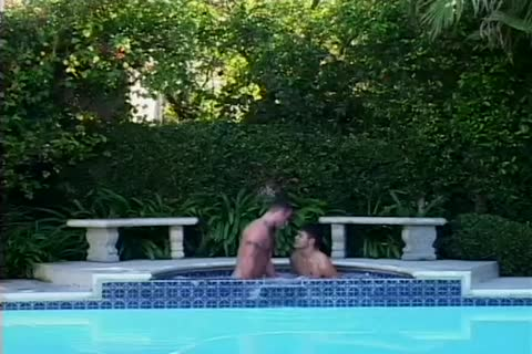 homosexual fellows get naughty And tasty In A Jacuzzi.