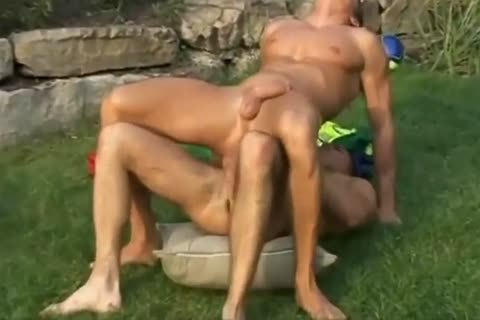 crazy Stefano And Lucas Difubbiano banging outdoors