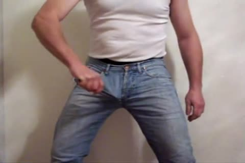 Ripping Three Jeans And Nylon Shorts