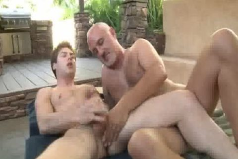 Jake Cruise pounds Vance Crawford