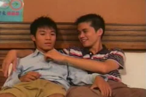 two Chinese boyz Going At It