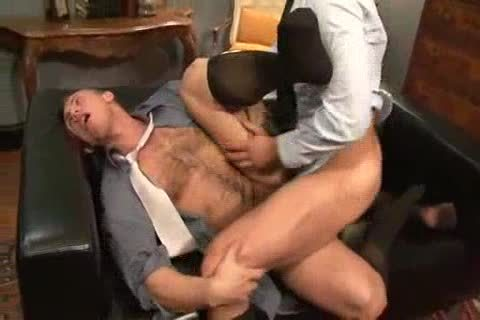 banging His ass Back At The Office