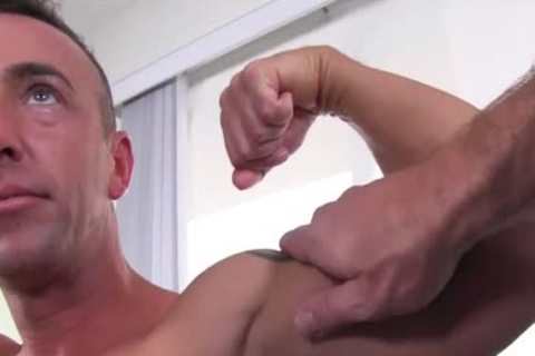 gayCastings Tatted Muscle man Jerks Off On cam For $