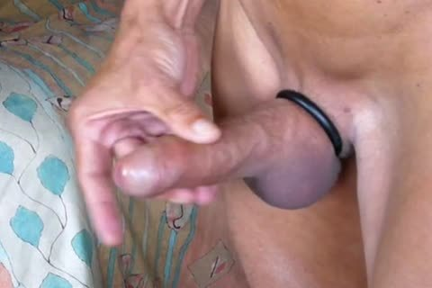 Stripping, Swinging My shlong, Jerking-off And Cummin In The End