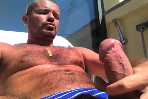 TIERY B. // PHOTO-PORNO-GRAPHER - Copyright / naughty lad Servicing And Worshiping A gigantic ramrod In Summer's Heat