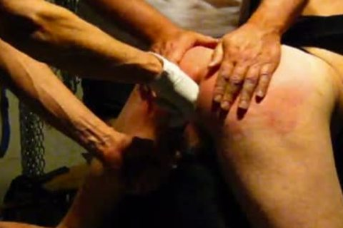 Two On One spanking Scene Leading To Release