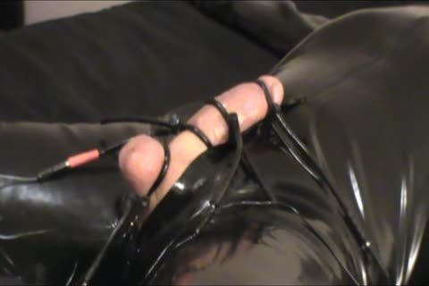 Iliff Applies Electro To Vidar's ramrod For Over An Hour And gets Three wild Orgasms.