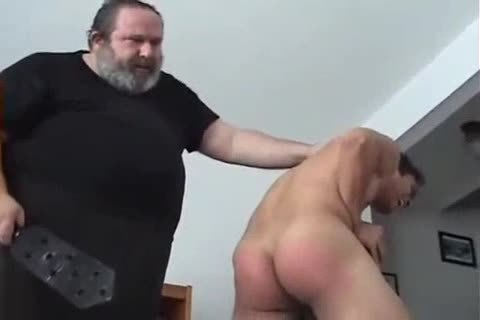 Very sexy man Spanked