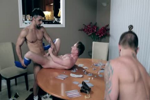Three homo dudes Have A sexual encounter