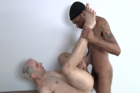 dark dick For A delicious White gay arse