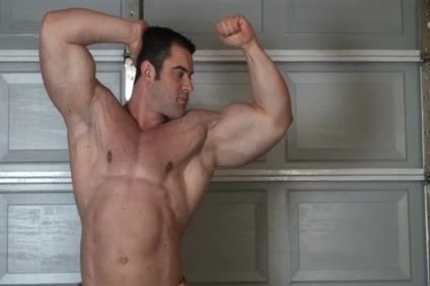 Muscle stud stripped Stripping