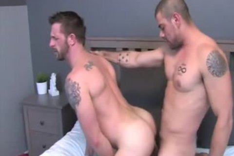 banging Each Others powerful booties bare