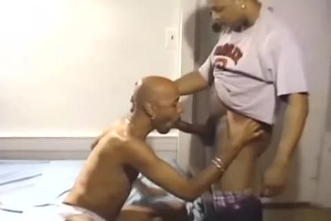 Three large Dicked black boys Have A slam Session