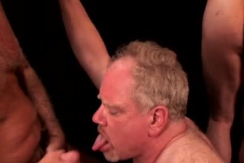 Two older gay males Who Love Sex!