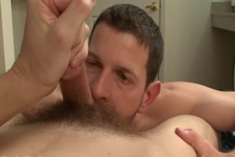 Clay Towers Enjoys This Bearded brunette
