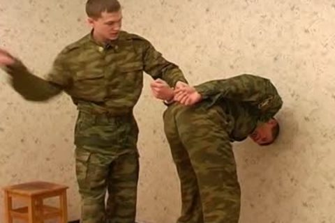 Two homo Soldiers Want To Have Some joy
