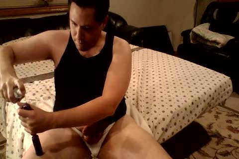 butthole Bead And 10-Pounder Ring pleasure In My Jockstrap