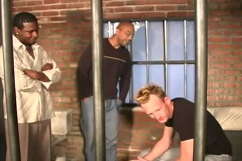 White guy acquires drilled In The Prison By Blacks