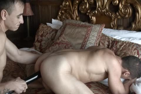 Russian gay pounds friend By sextoy