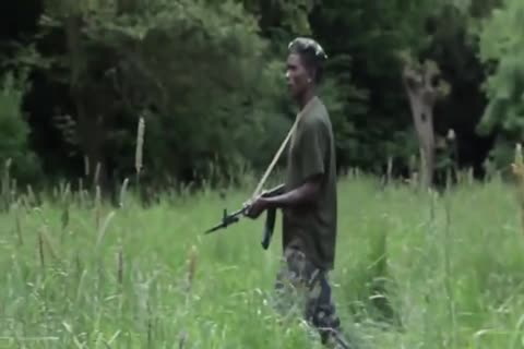 African Barebacking Soldiers