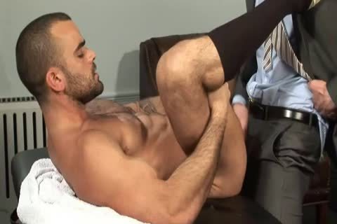 Hands Free cum In The Doctor's Office