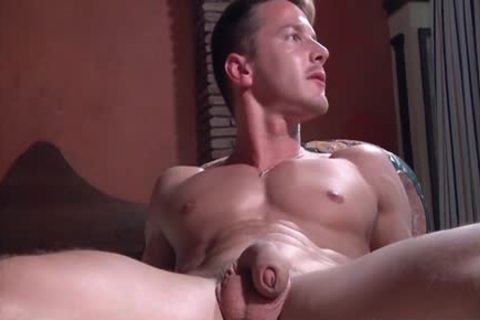 A Super Fit Muscle pecker receives His chunky subrigid dick Blown On My A Beard lad