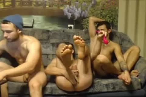 3 Randy Russian Straight Individuals Go homosexual For The First Time On cam