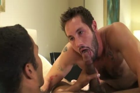 Tattoo 10-Pounder a bit of butthole And Creampie
