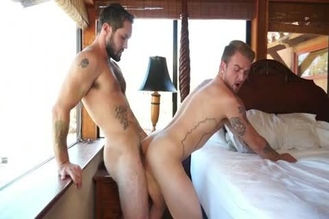 excited men drilling