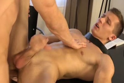 Muscle homo Dp With cumshot