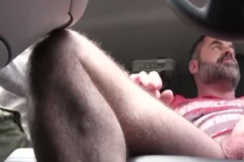 naughty daddy bangs His Step Son In A Car - FAMI