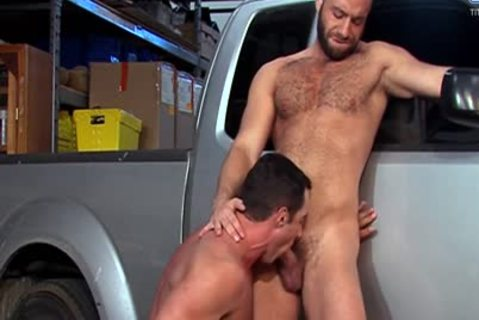 Eddy CeeTee And Nick Capra group-sex In The Garage
