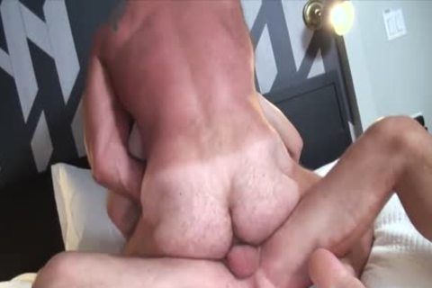 Hans Berlin bonks Randy Open bare hole Until he Cums