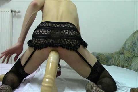large-group sex Sissy-bondman, monstrous sextoy