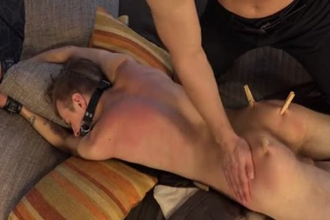 lovely twinks spanking With ejaculation