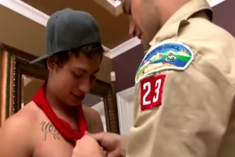 twinks Scout 3some