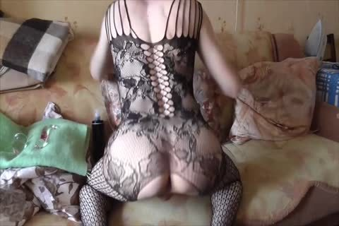 LanaTuls - Crossdress And AssPlay With toys And sperm flow