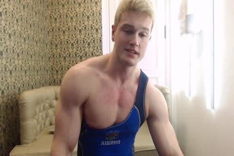horny young Russian Muscle Hunk