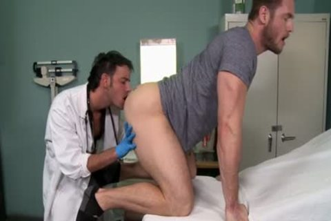 Muscle Doctor pooper sex With cumshot