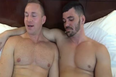 Adam Adonis & Brogan Reed naked In Dallas