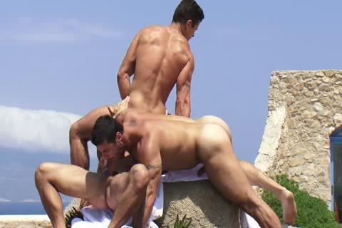 Trenton Ducati threesome With Adam Killian And Alex Marte