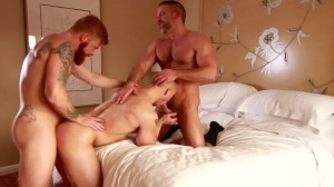 naughty twink - Dirk Caber with John Magnum butthole Hump