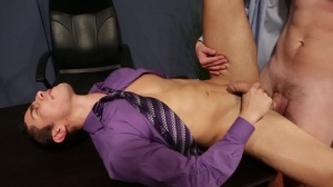 Employee Of The Month - Jimmy Johnson and Lance Luciano anal Hook up