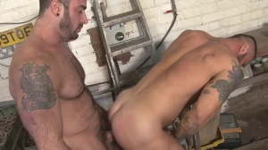 Late For Work - Spencer Reed with Alex Marte ass Hump