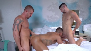The Sting - Darin Silvers and Connor Halstead butthole Hook up