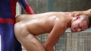 Spiderman : A homosexual XXX Parody - Aston Springs with Will Braun butthole-copulation