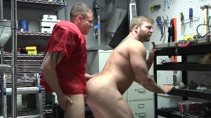 Janitor's Closet - Colby Jansen and Darin Silvers ass Hook up