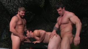 journey Of Duty - Zeb Atlas with Colby Jansen ass dril