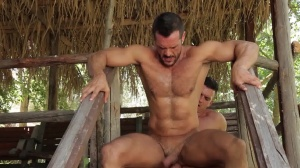 men In Ibiza - Paddy O'Brian, Denis Vega butthole nail