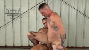 rough And bare three - ass Hook up